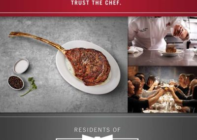 Ruth's Christ Steak House - Cosmopolitan Residents Special Ad with Maverick Marketing Advertising and Public Relations