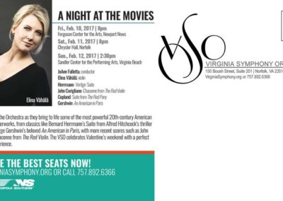 The Four Seasons|A Night at the Movies Mailer with Maverick Marketing Advertising and Public Relations