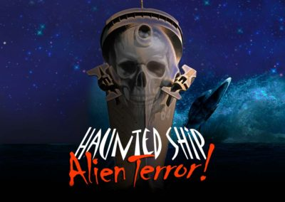 Haunted Ship 2016 - Alien Terror Logo