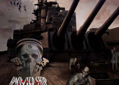 Haunted Ship 2015 - Zombie Pirates Poster