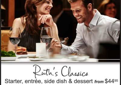 Ruth's Chris Steak House - Valentine's Day Ad with Maverick Marketing Advertising and Public Relations