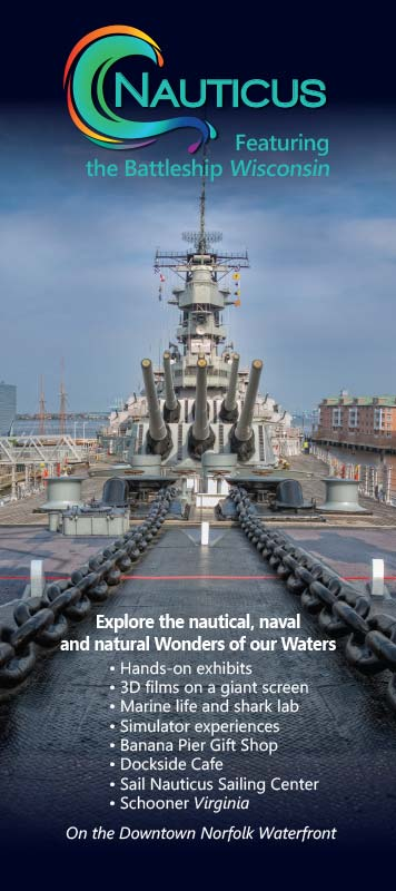 Nauticus Print Ad with Maverick Marketing Advertising and Public Relations