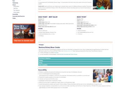 Nauticus.org | Website Redesign
